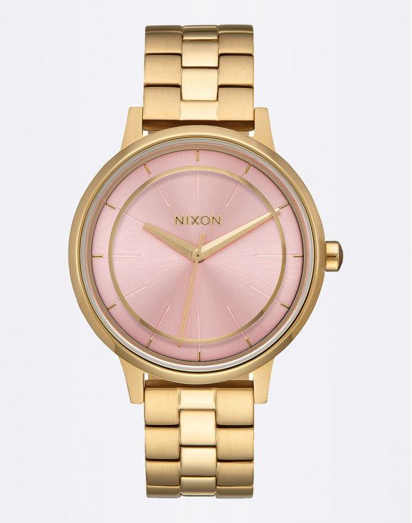 Nixon Kensington Light Gold / Pink
