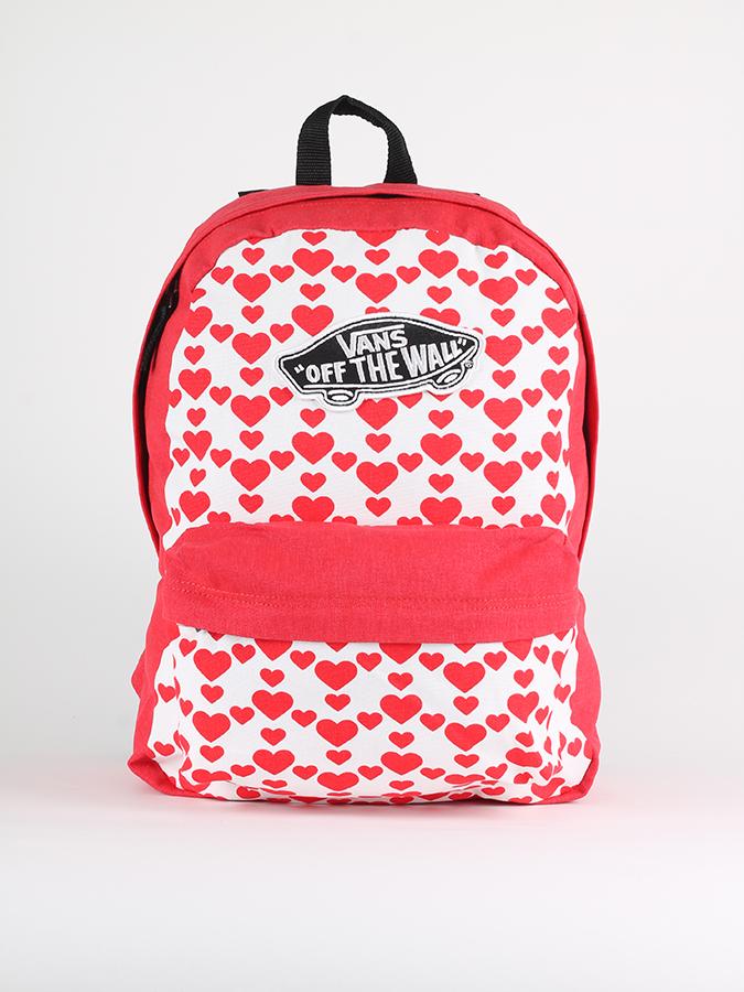 f98639c4ce4 Batoh Vans Wm Realm Backpack Hearts Růžová