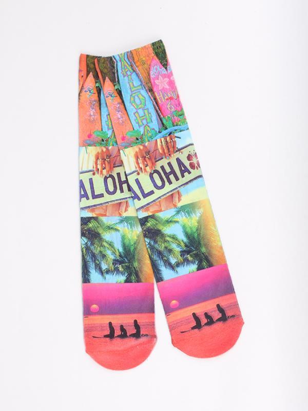 Ponožky Alcott CALZINI ALOHA Barevná