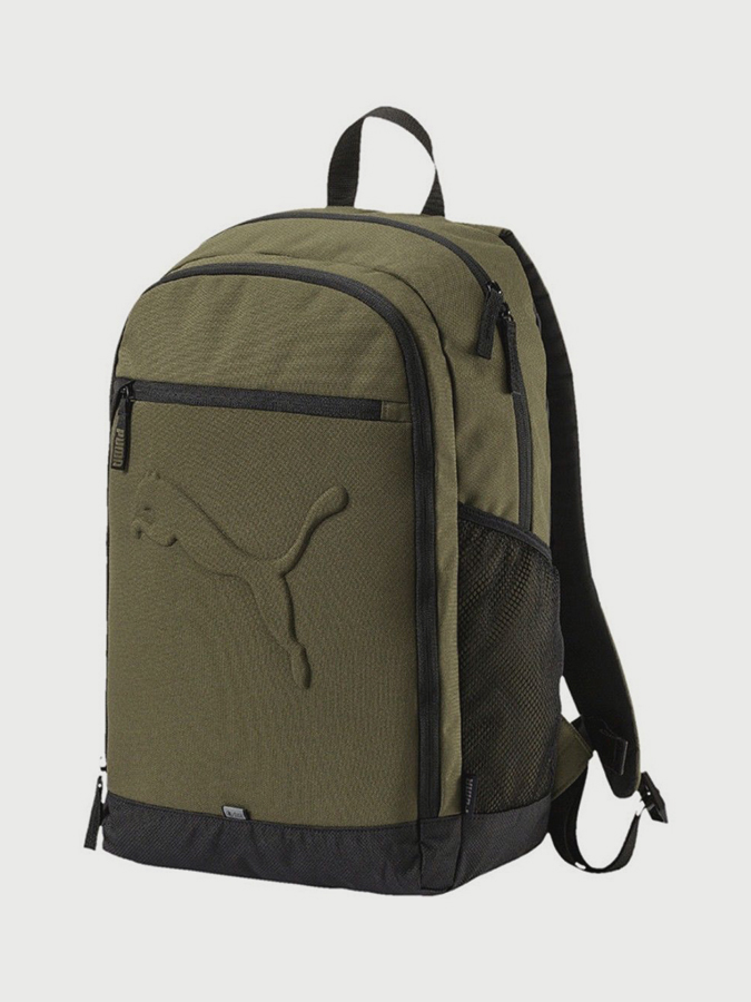 a3eac36526 Batoh Puma Buzz Backpack Olive Night Zelená