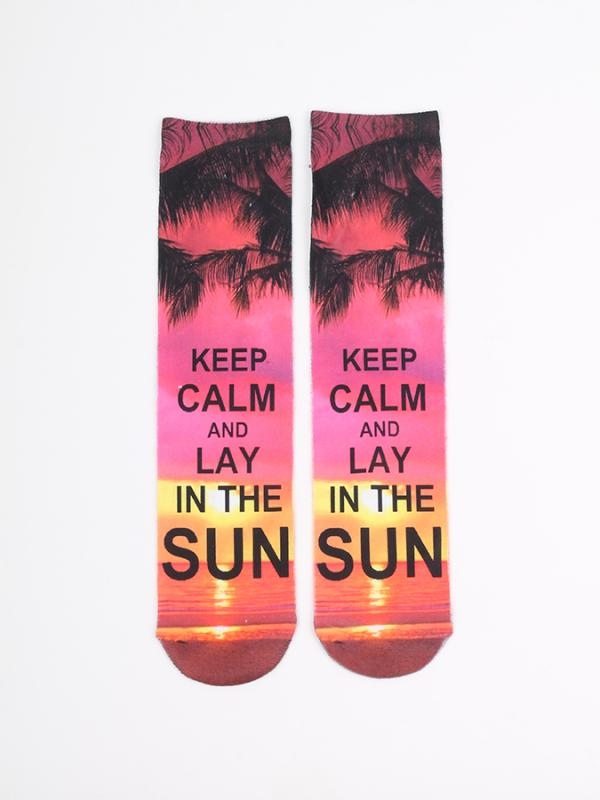 Ponožky Alcott CALZINI TRAMONTO Barevná