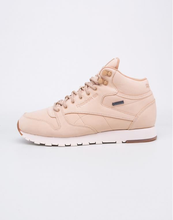 Reebok Classic Leather Mid TWD Goretex - Thin Beige/Paperwhite-Gum 42,5