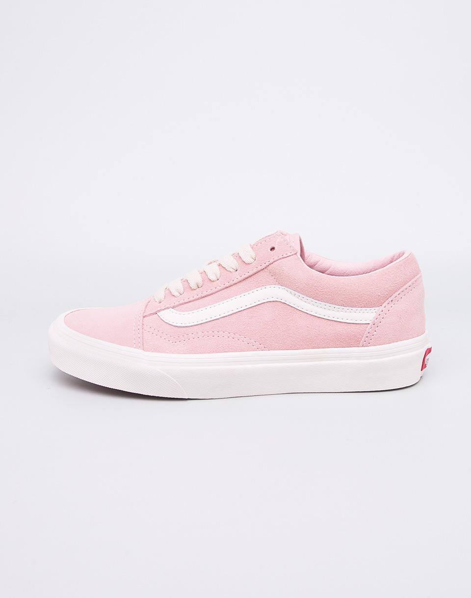 Sneakers tenisky Vans Old Skool English Rose Marshmallow