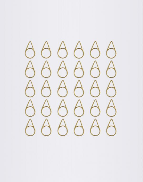 Normann Copenhagen Paper Clips 30 Lemon Curry