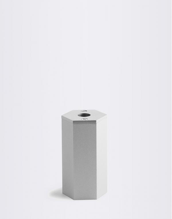 Normann Copenhagen Pencil Sharpener Silver