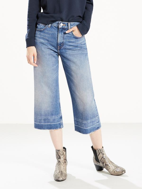 The Wide-Leg Culotte Kalhoty Levi