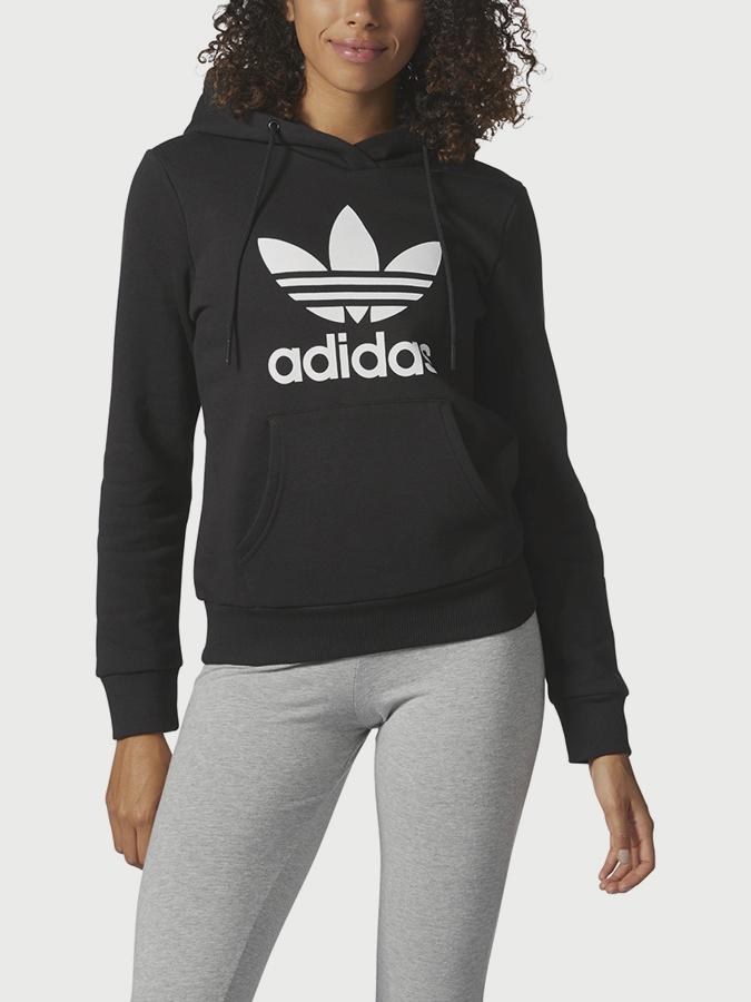 0ef9c25d8f Mikina adidas Originals TRF LOGO HOODIE Černá