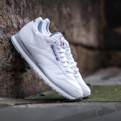 Reebok Classic Leather White/Light Grey