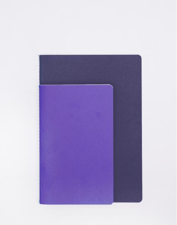 Nomess Studybooks M/L Bright Blue/Dark Blue