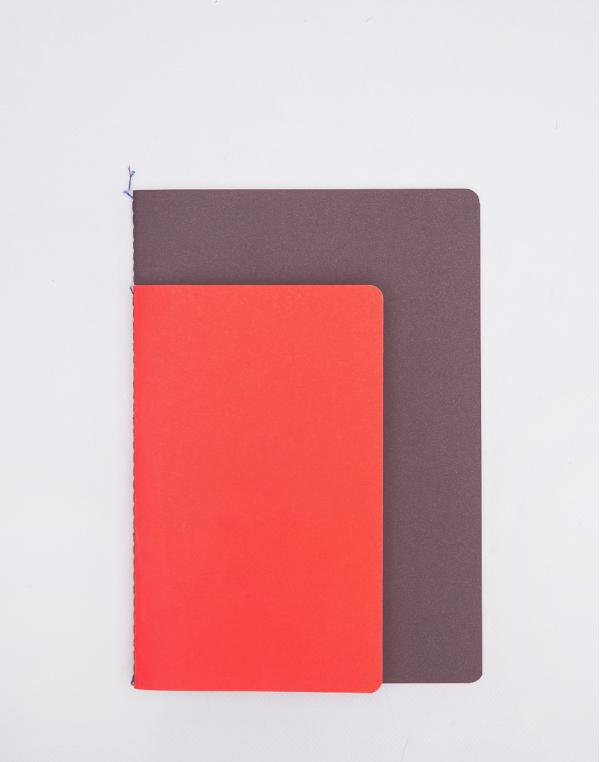 Nomess Studybooks M/L Red/Brown