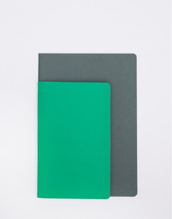 Nomess Studybooks M/L Bright Green/Dark Green