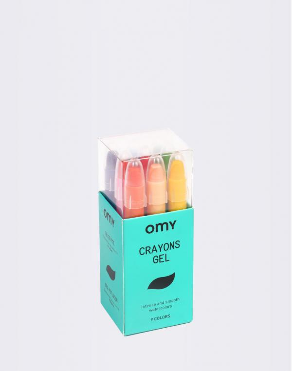 OMY 9 Gel Crayons