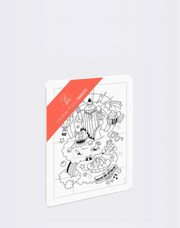 OMY Coloring Puzzle - Fantastic