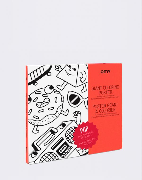 OMY Giant Coloring Poster - Pop