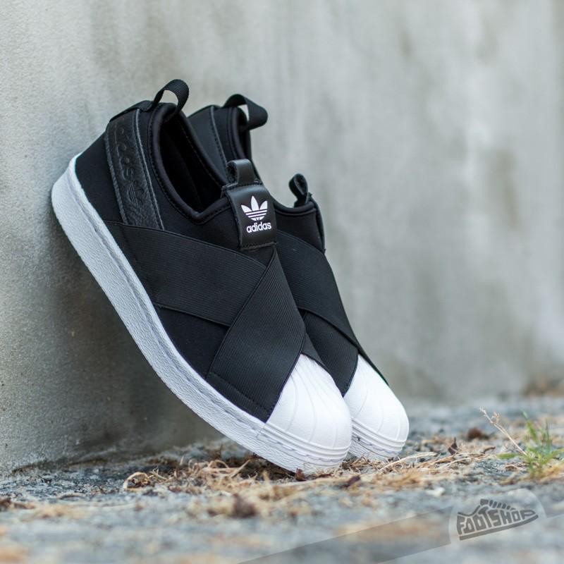 adidas Superstar Slip On W Black/ Ftw White