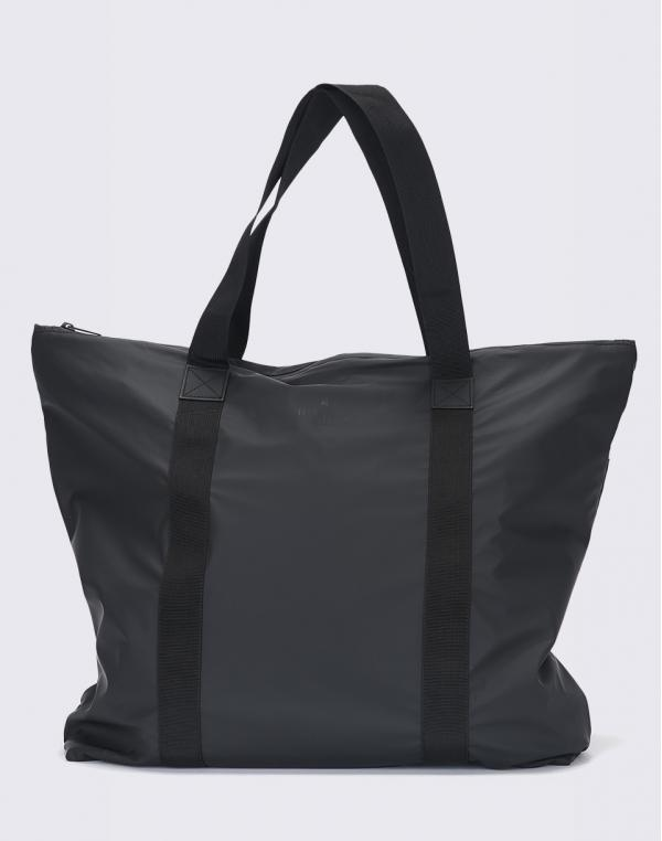 Rains Tote Bag 01 Black