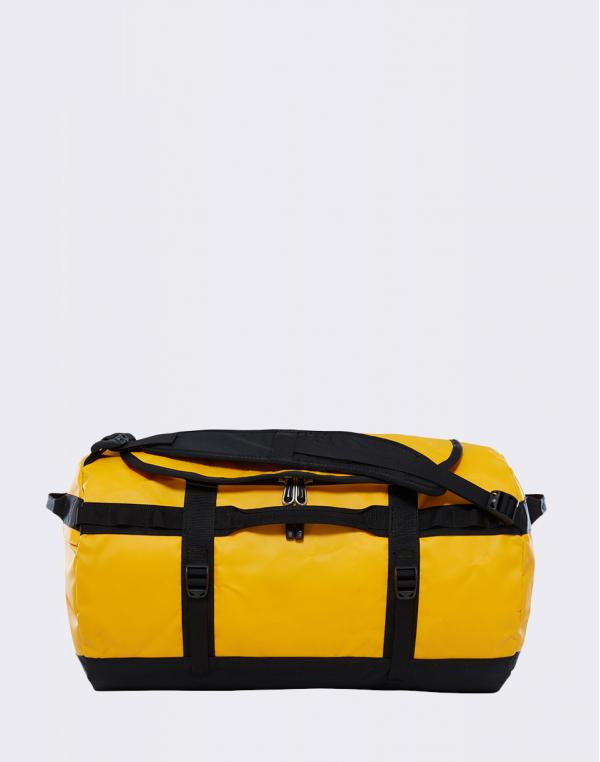 The North Face Base Camp Duffel S Summit Gold/ TNF Black