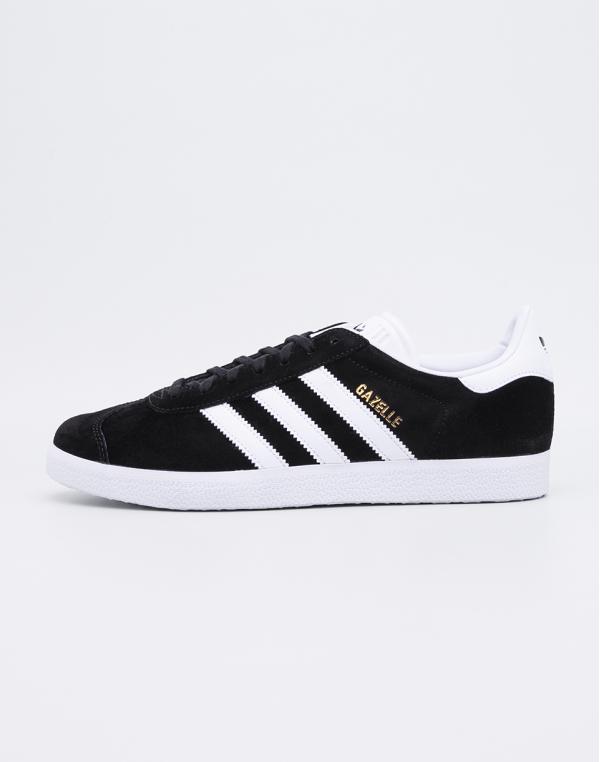 Adidas Originals Gazelle Core Black White Gold Metal 38 4220cc4bb72