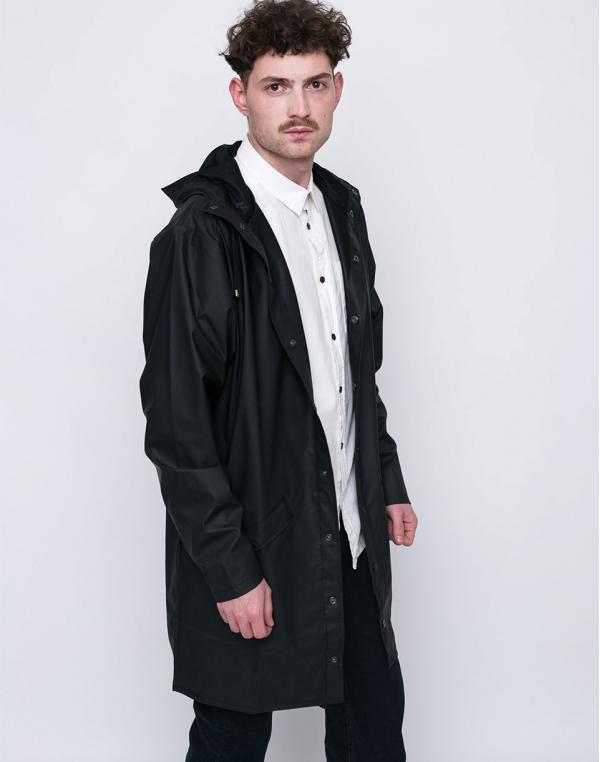 Rains Long Jacket 01 Black S/M