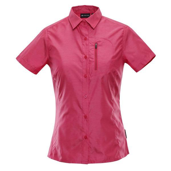 ALPINE PRO LURINA 2 RŮŽOVÁ / FIALOVÁ Dámská košile L