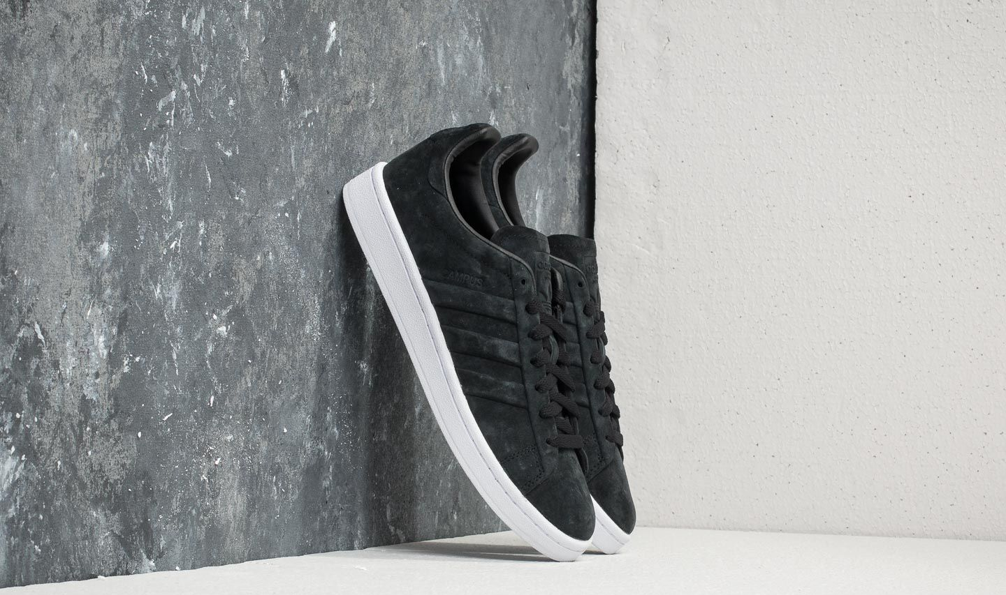 pretty nice fe272 7bab0 adidas Campus Stitch And Turn Core Black Core Black Ftw White