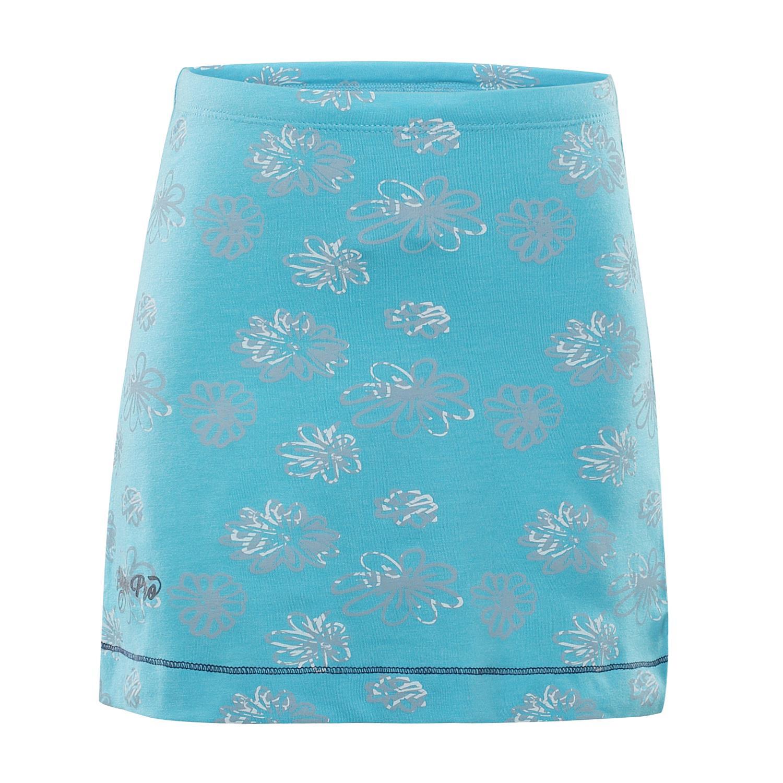 925e252eb019 ALPINE PRO LAUCO 2 MODRÁ   TYRKYSOVĚ MODRÁ Dětská sukně 116-122 ...