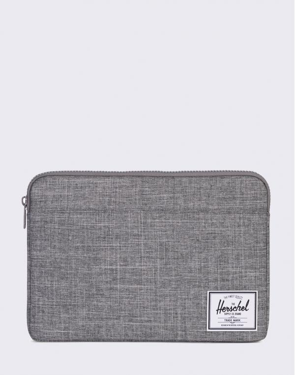 Herschel Supply Anchor Sleeve for 13 inch Macbook Raven Crosshatch