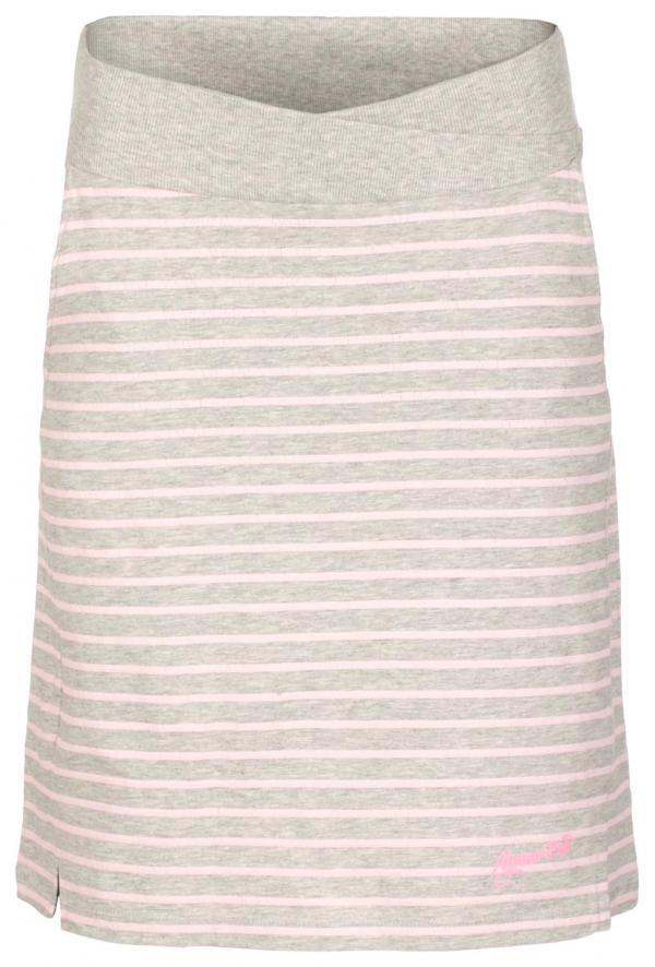 ALPINE PRO MANIQUA 2 NEUTRÁLNÍ / ZEMITÁ Dámská sukně M