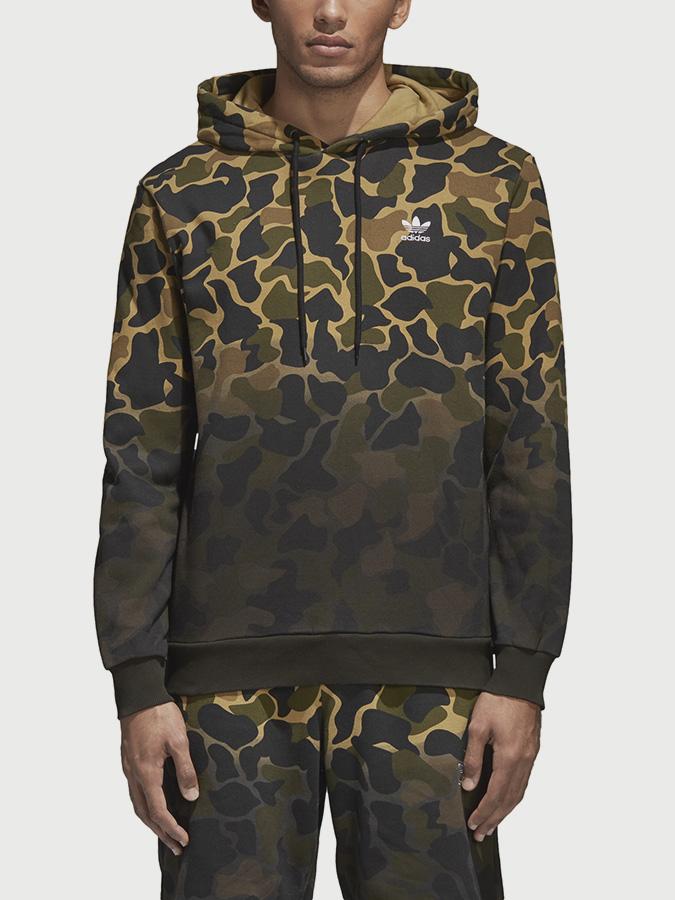 Mikina adidas Originals Camo Hoodie Barevná  54ac2c39659