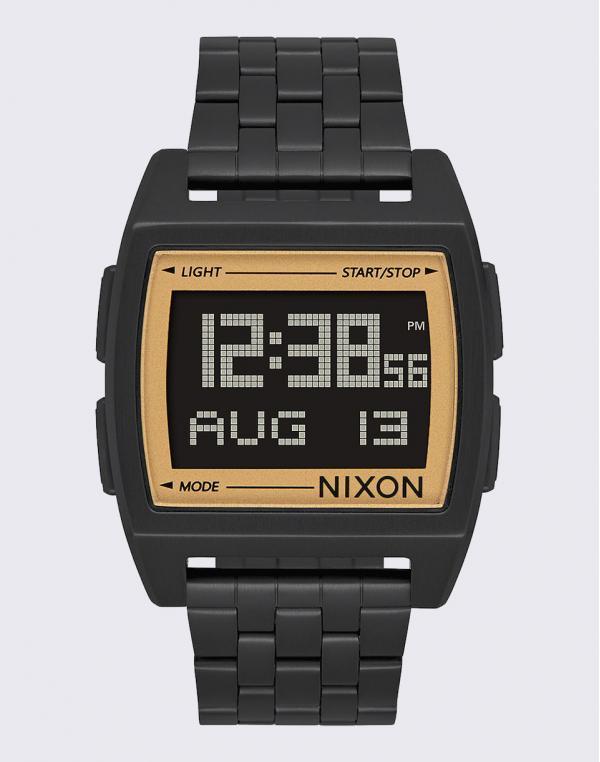 Nixon Base All Black / Gold