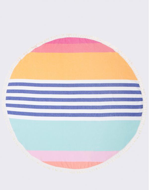 Sunnylife Round Fouta Towel Catalina S81RFOCL