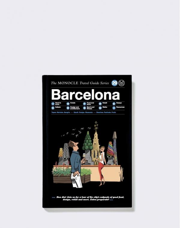 Gestalten Barcelona: The Monocle Travel Guide Series