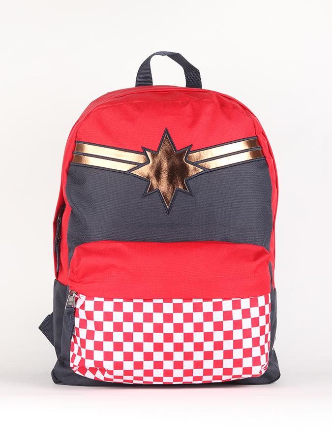 c64c48d9d31 Batoh Vans WM Captain (Marvel) Captain Realm Backpack Racing Red Červená