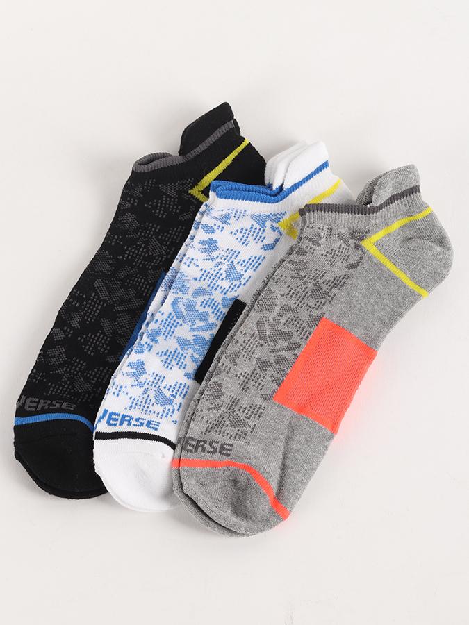 Ponožky Converse Skarpety Men 3-pack Barevná  9bf3061728