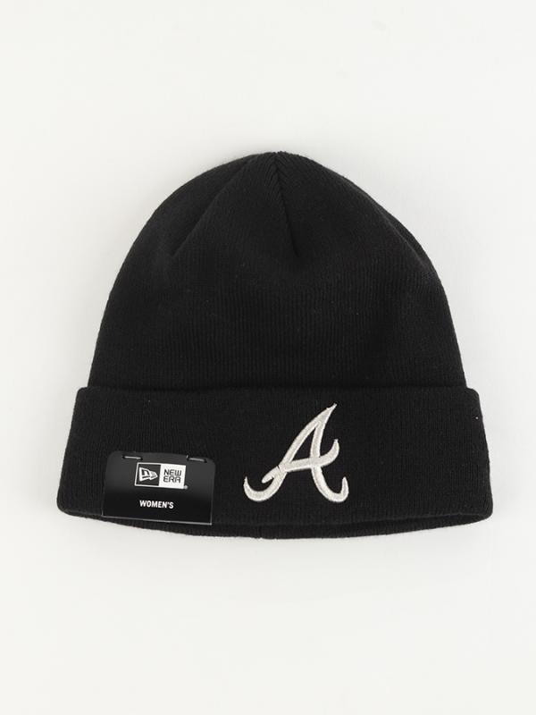 Čepice New Era Wmn MLB Ess Cuff Knit ALTBRA Černá