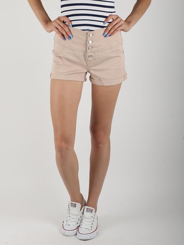 Šortky Terranova Pantalone Corto Béžová