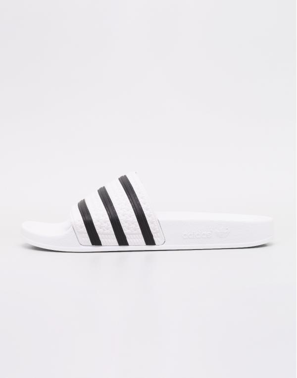 adidas Originals Adilette White / Core Black / White 42