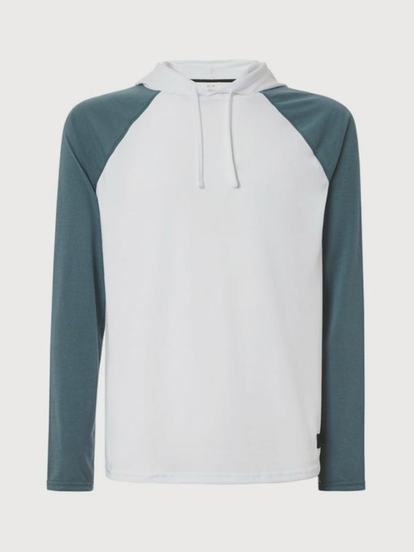Mikina Oakley Lakeside Ls Hooded Knit Bílá