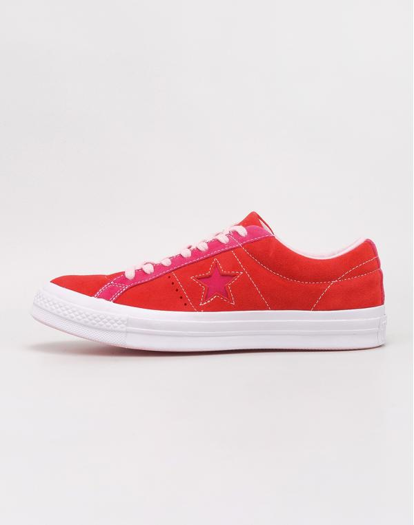 Converse One Star OX Enamel Red/ Pink Pop 42