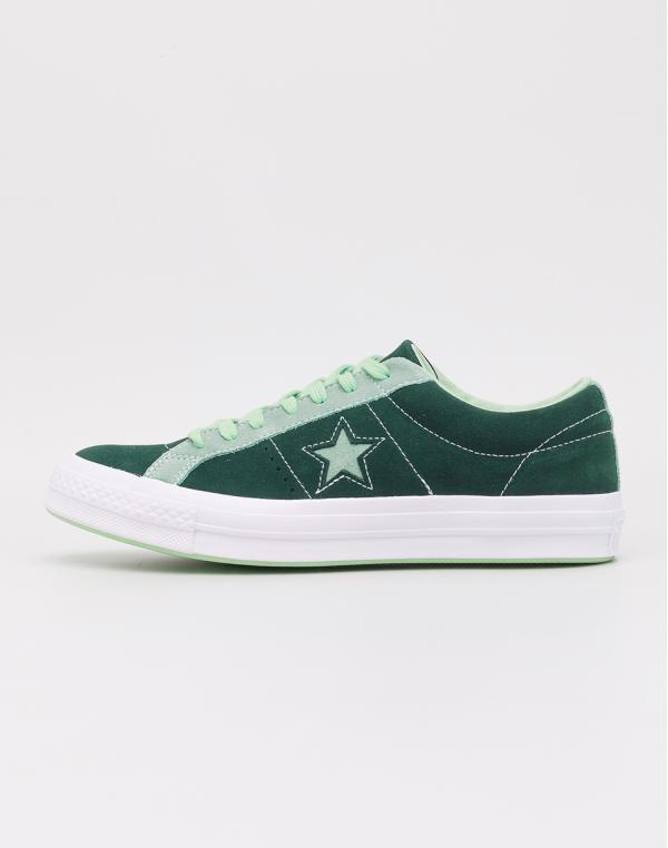 Converse One Star OX Ponderosa Pine/ Neptune Green 42