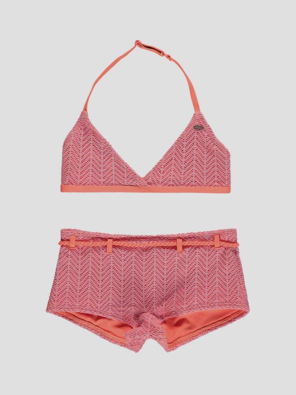 Plavky O´Neill PG STRUCTURE HALTER BIKINI Růžová
