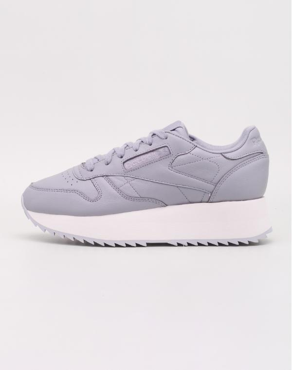 Reebok Classic Leather Double Double Cool Shadow/ Chalk/ Cloud Grey 37