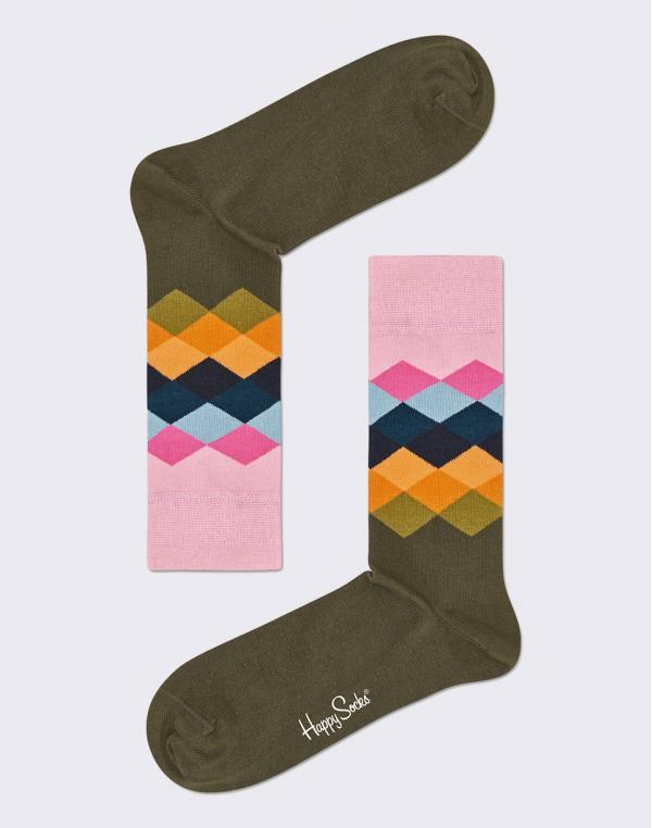 Happy Socks Faded Diamond FAD01-7001 36-40