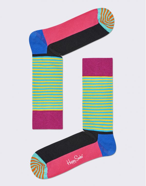 Happy Socks Half Stripe HAS01-5000 36-40