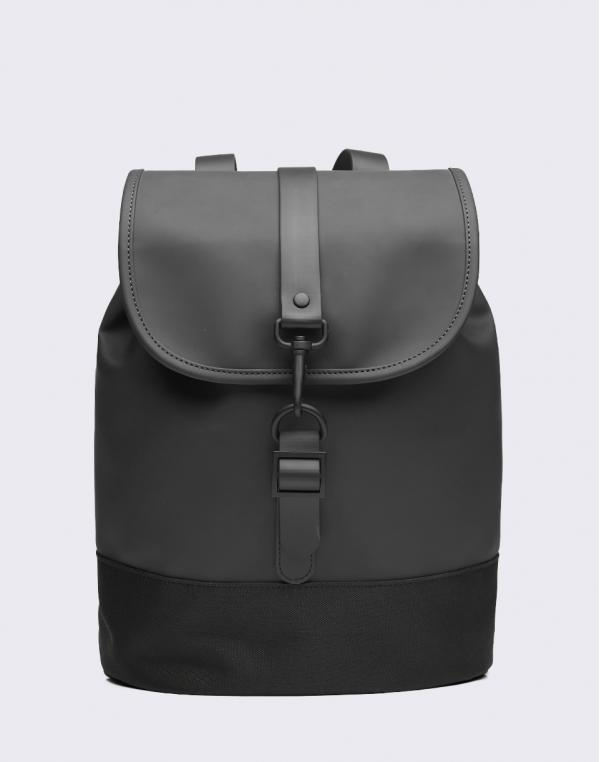 Rains Drawstring Backpack 01 Black