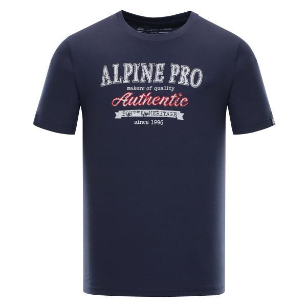 ALPINE PRO AMIT 4 MODRÁ / TYRKYSOVĚ MODRÁ Pánské Triko S