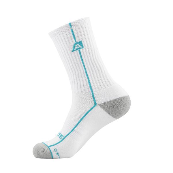 ALPINE PRO BANFF 2 ZELENÁ / TYRKYSOVĚ ZELENÁ Unisex Ponožky M
