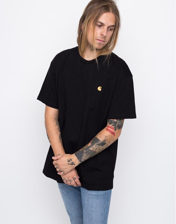 Carhartt WIP Chase Black / Gold S