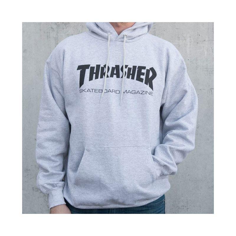 Thrasher skate mag - šedá  4d2f7ee170