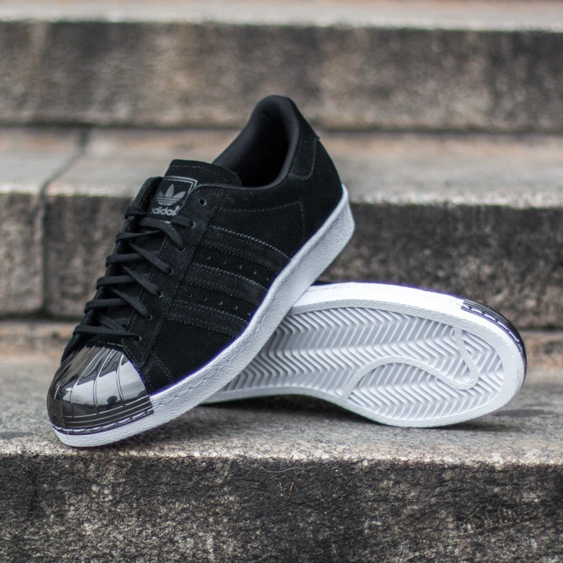 e2610121e9de adidas Superstar 80s Metal Toe W Core Black  Core Black  Ftw White ...